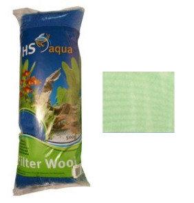 HS filterwatten groen(semi-grof) 250 G